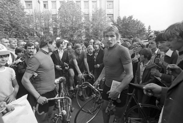 Foto:Scanpix. Bicycle racer Aavo Pikkuus, a candidate member of the USSR Olympic team, a winner of the 1978 Peace Race.